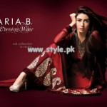 Maria B Embroidered Dresses 2013 For Eid 003