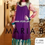 Maria B Embroidered Dresses 2013 For Eid 004