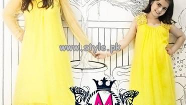 Maria B Embroidered Dresses 2013 For Eid-Ul-Fitr 009