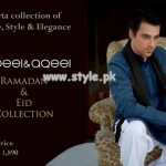 Nabeel And Aqeel Kurta Shalwar Collection 2013 For Eid 001
