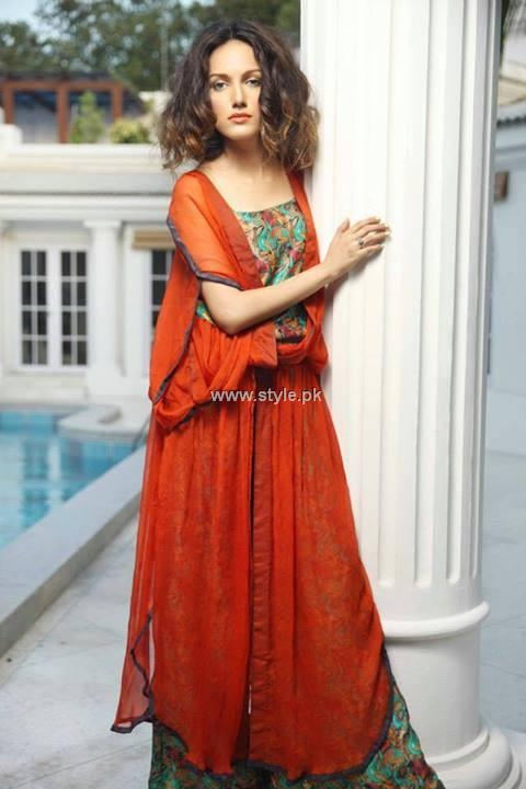 Nida Azwer Party Wear Collection 2013 for Eid