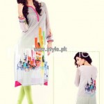 Nishat Linen Digital Print Collection 2013 For Summer 004