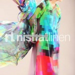 Nishat Linen Digital Print Collection 2013 For Summer 006