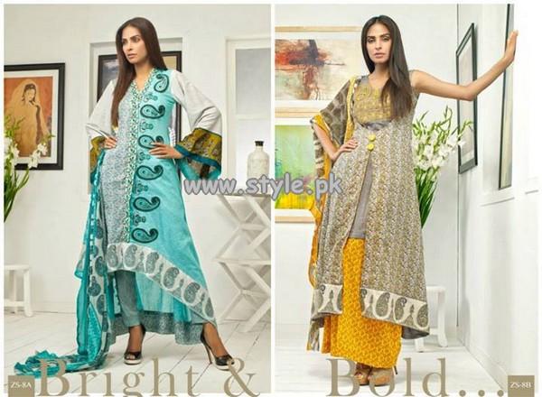 Pehnava Eid Dresses 2013 by Z.S Textile 009
