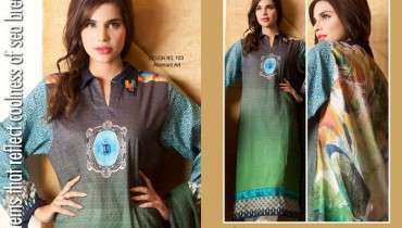 Rashid Textiles Eid Collection 2013 For Women
