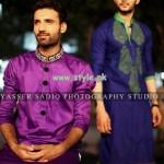 Rehan and Muzammil Kurta Shalwar 2013 For Eid 010