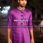 Rehan and Muzammil Kurta Shalwar 2013 For Men 002