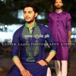 Rehan and Muzammil Kurta Shalwar 2013 For Men 004