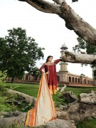 Sana and Samia Celebre Eid Collection 2013 by Lala 004