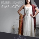 Shamsha Hashwani Party Wear Dresses 2013 for Women 003
