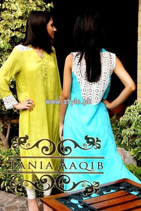 Tania Aaqib Eid-Ul-Fitr Dresses 2013 For Girls 003