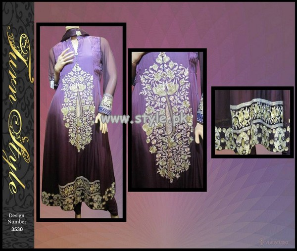 Turn Style Eid Collection 2013 For Women Volume 2 008