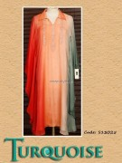 Turquoise Eid Collection 2013 for Women 005