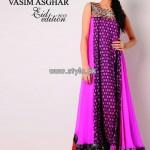 Vasim Asghar Eid Collection 2013 For Girls 004