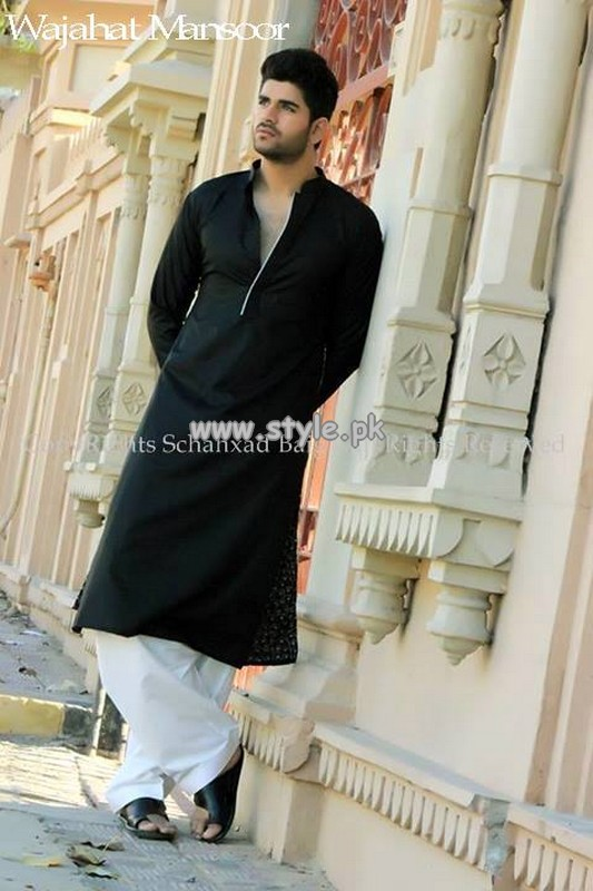 Wajahat Mansoor Eid Collection 2013 For Men 005