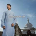 Yellow Eid Kurta Shalwar Collection 2013 For Men 002