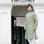 Yellow Eid Kurta Shalwar Collection 2013 For Men 004