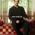 Yellow Eid Kurta Shalwar Designs 2013 For Men 005