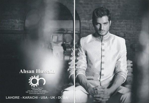 Ahsan Hussain Sherwani Collection 2013 For Men 009