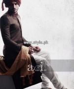 Arsalan Iqbal Sherwani Designs 2013 For Groom 001