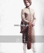 Arsalan Iqbal Sherwani Designs 2013 For Groom 002