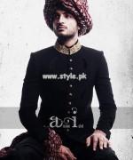 Arsalan Iqbal Sherwani Designs 2013 For Groom 003