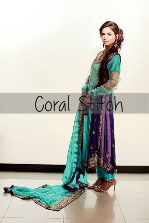 Coral Stitch Bridal And Formal Wear Collection 2013 For Women 005