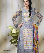 Dawood Textiles Aalishan Chiffon Lawn Collection 2013 Volume 3 For Women 004