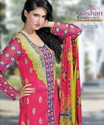 Dawood Textiles Chiffon Lawn Collection 2013 Volume 4 For Women 0013