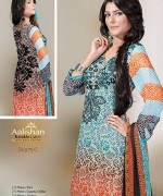 Dawood Textiles Chiffon Lawn Collection 2013 Volume 4 For Women 0016