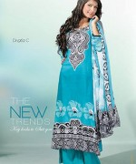 Dawood Textiles Chiffon Lawn Collection 2013 Volume 4 For Women 002