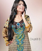 Dawood Textiles Chiffon Lawn Collection 2013 Volume 4 For Women 004