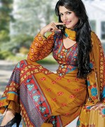 Dawood Textiles Chiffon Lawn Collection 2013 Volume 4 For Women 007