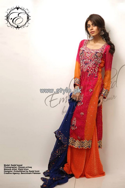 Embellished Formal Wear Dresses 2013 by Sadaf Amir 007