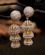 Jewel Sensation Earring Collection 2013 For Eid 003