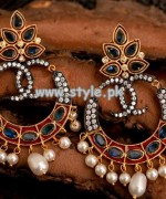 Jewel Sensation Earring Collection 2013 For Eid 005