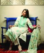 Khaadi Handwoven Silk Cotton Collection 2013 for Women 002