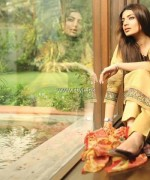 Khaadi Handwoven Silk Cotton Collection 2013 for Women 004