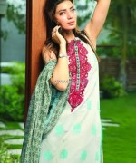 Khaadi Handwoven Silk Cotton Collection 2013 for Women 007