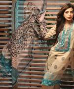 Khaadi Handwoven Silk Cotton Collection 2013 for Women 012