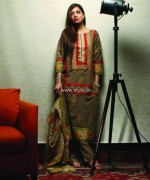 Khaadi Handwoven Silk Cotton Collection 2013 for Women 014
