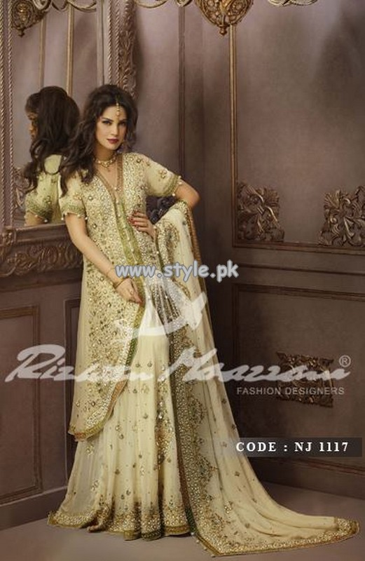 Rizwan Moazzam Bridal Wear Collection 2013 For Women 004
