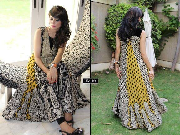 Rozina Munib Party Wear Collection 2013 For Women 003