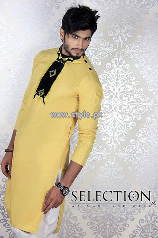 Selection Kurta Shalwar Collection 2013 For Eid 002