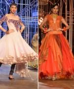 Tarun Tanhiliani Collection At Indian Bridal Fashion Week 2013