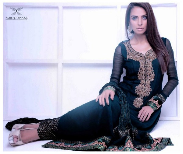 Zaheer Abbas Formal Wear Collection 2013 For Women 0011