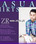 Zayn Rashid Casual Wear Shirts 2013 For Boys 003