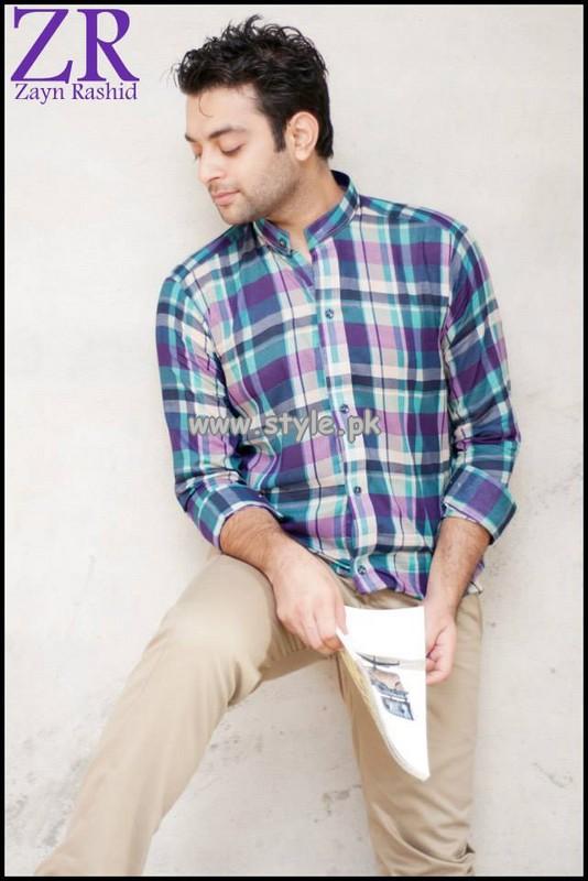 Zayn Rashid Casual Wear Shirts 2013 For Men 007