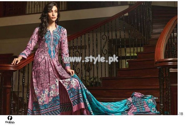 Firdous Fashion Cambric Collection 2013 For Women 011