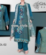 Ghani Textile Autumn Collection 2013 For Girls 006